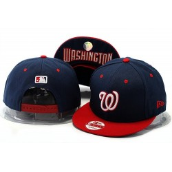 MLB Washington Nationals Stitched Snapback Hats 001