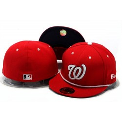 MLB Washington Nationals Stitched Snapback Hats 002