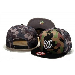 MLB Washington Nationals Stitched Snapback Hats 003