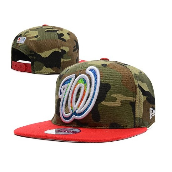 MLB Washington Nationals Stitched Snapback Hats 005