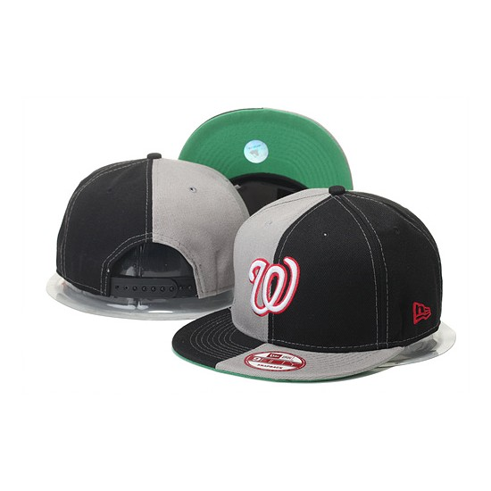 MLB Washington Nationals Stitched Snapback Hats 006